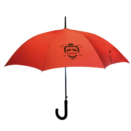Regenschirm mit Scottie Aufdruck